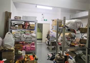 福永和平花园式工业园楼上1200平精装修带办公室厂房图片5
