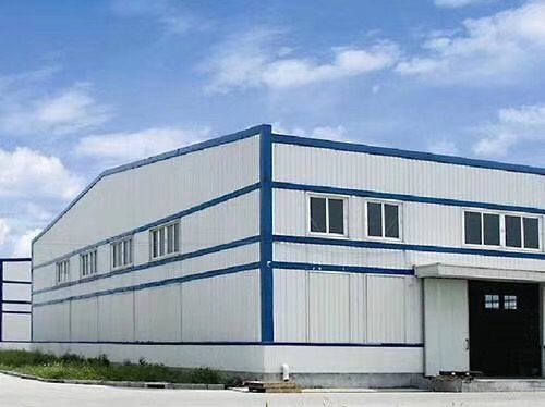 大岭山优质单一层钢构厂房出售