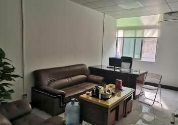 福永和平花园式工业园楼上1200平精装修带办公室厂房图片7
