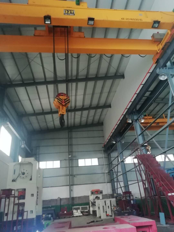 汽车城可架30吨行车重工业单一层厂房