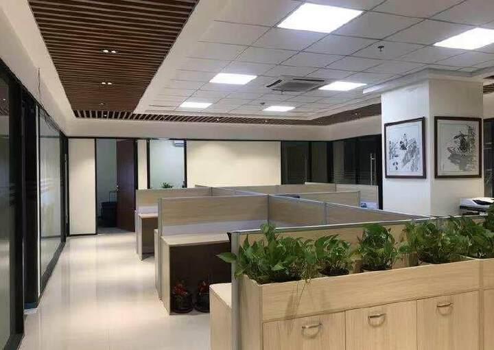 观澜新出豪华装修办公室530平,园区环境优美,停车位充足图片2
