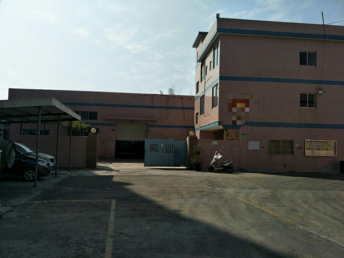 惠阳新圩镇长深高速口独门独院钢构仓库2100平米