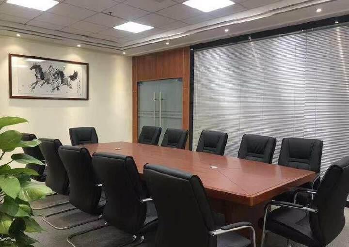 观澜新出豪华装修办公室530平,园区环境优美,停车位充足图片5