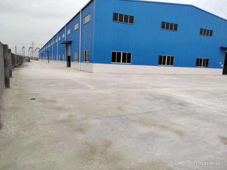 原房东钢构单层厂房8000平出租