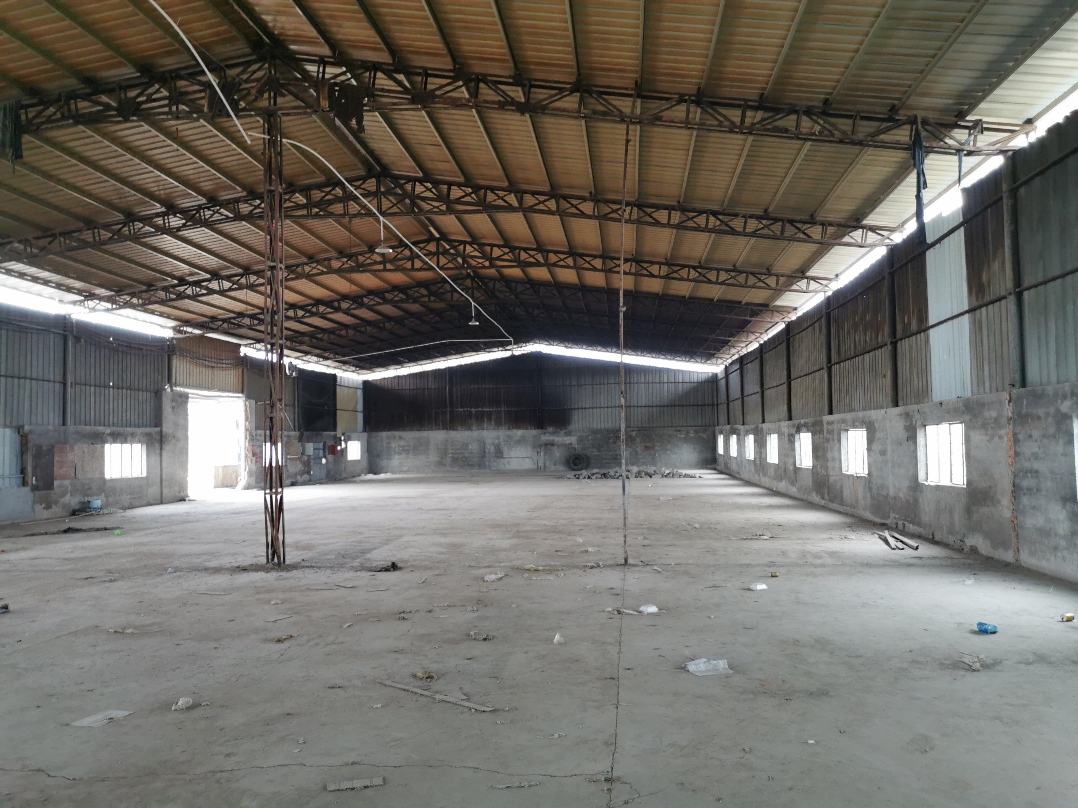 惠州市仲恺高新区新出原房东独院钢构厂房2500平米滴水7米