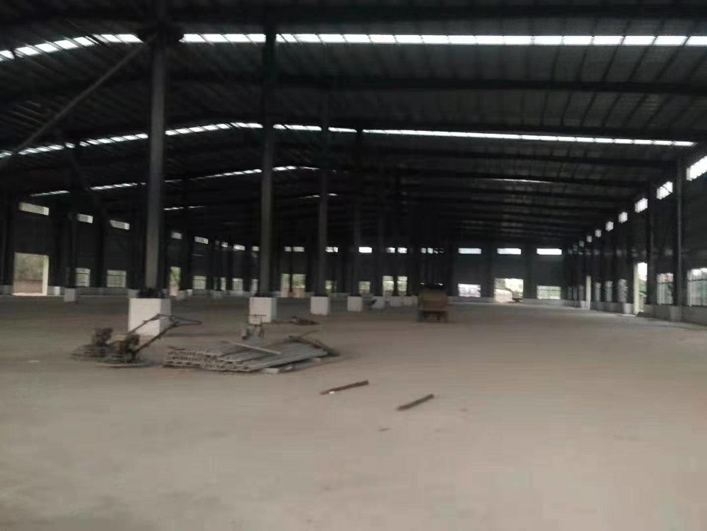 全新明包钢结构厂房两栋17000平米,滴水10米高带牛角