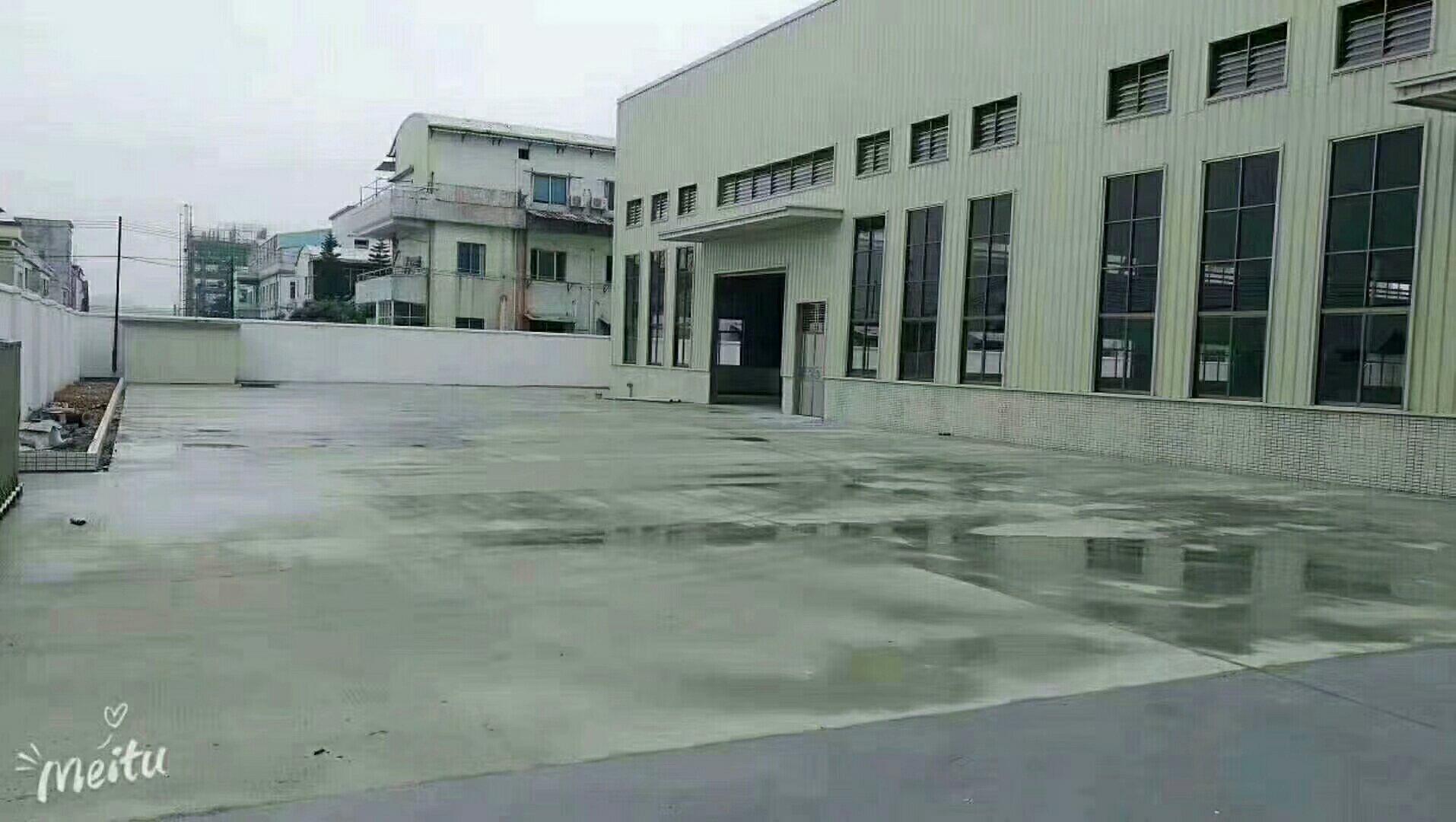 惠阳新圩镇独院仓库钢构1800平方