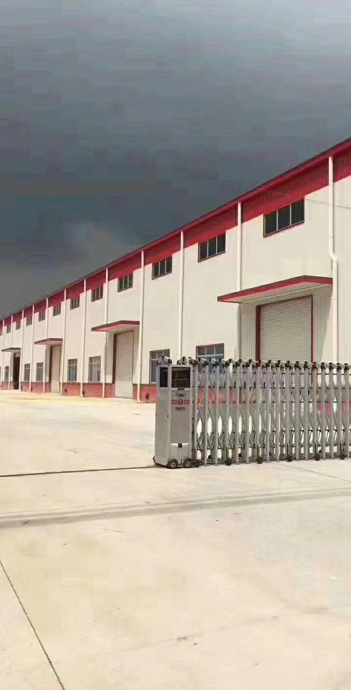 超靓园林式厂房低价招租,空地超大 独立门院,单一层厂房