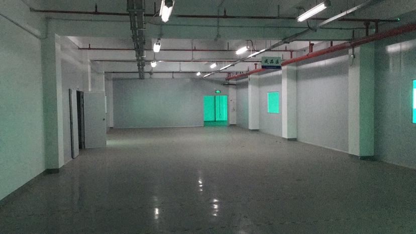 西乡臣田花园式大型工业园厂房3楼1300平办公室车间仓库