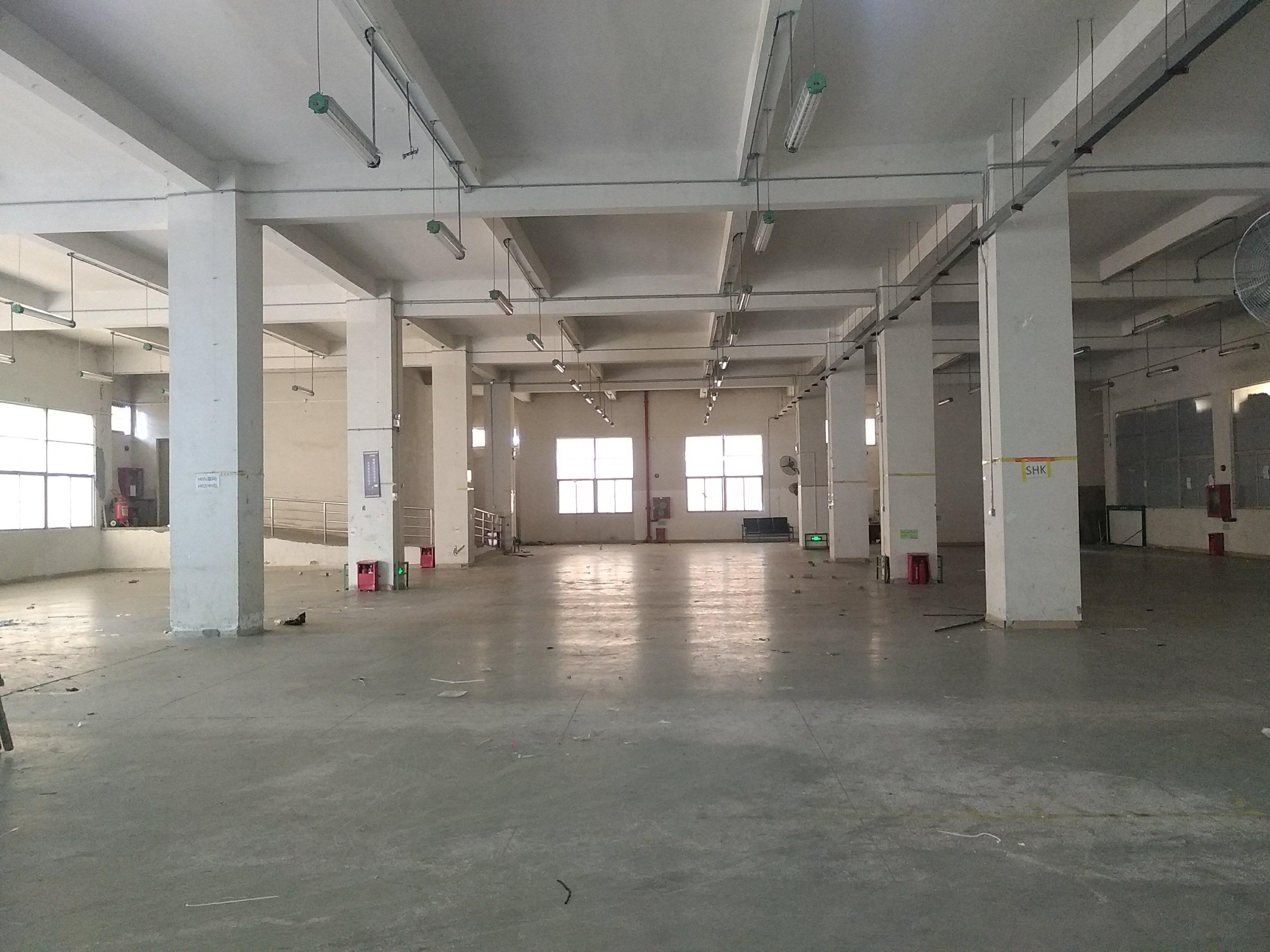 石岩塘头第三工业区一楼厂房1650平米招租,层高6米