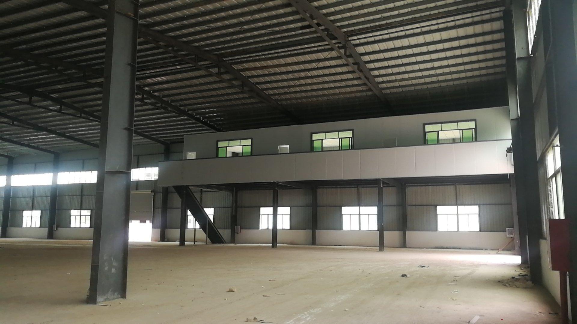 惠州博罗6000平原房东钢构厂房出租