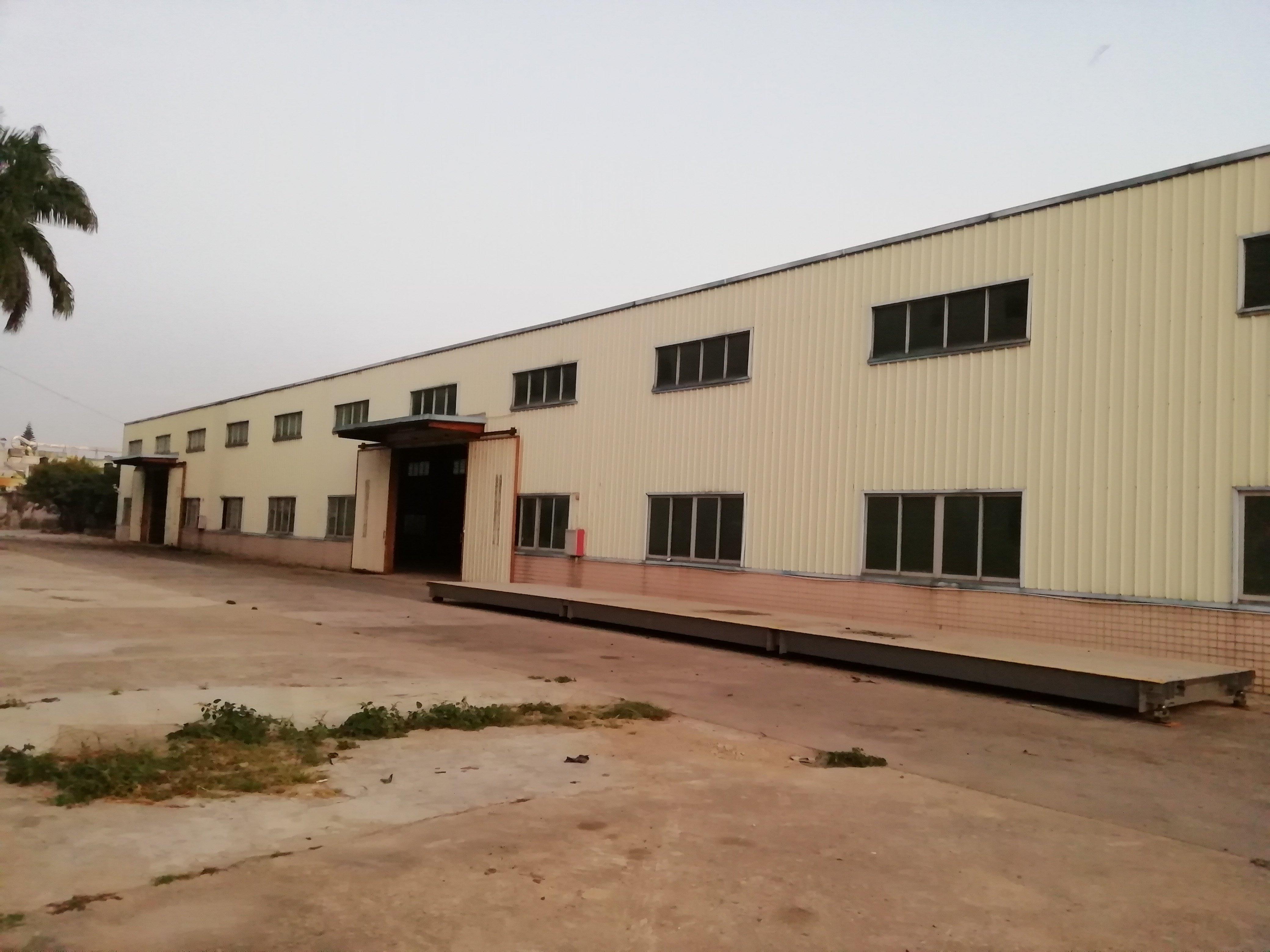 惠东县白花镇独栋红本钢构厂房1100平方15元