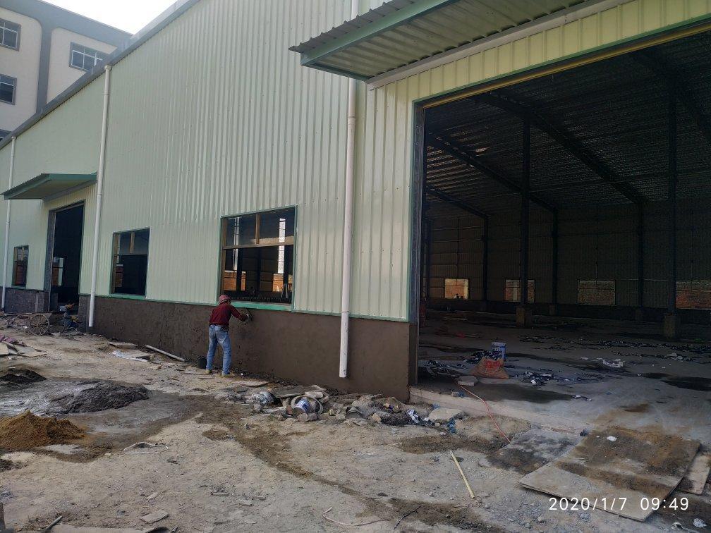原房东在建滴水10米钢构厂房出租,可办环评,交通便利,