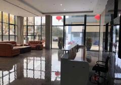 航城小面积128平1+1户型办公室出租