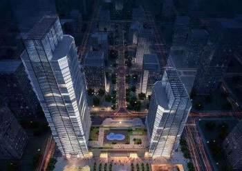 南城蛤地地铁口旁浙商大厦25楼以上多间小面积写字楼租69元图片1