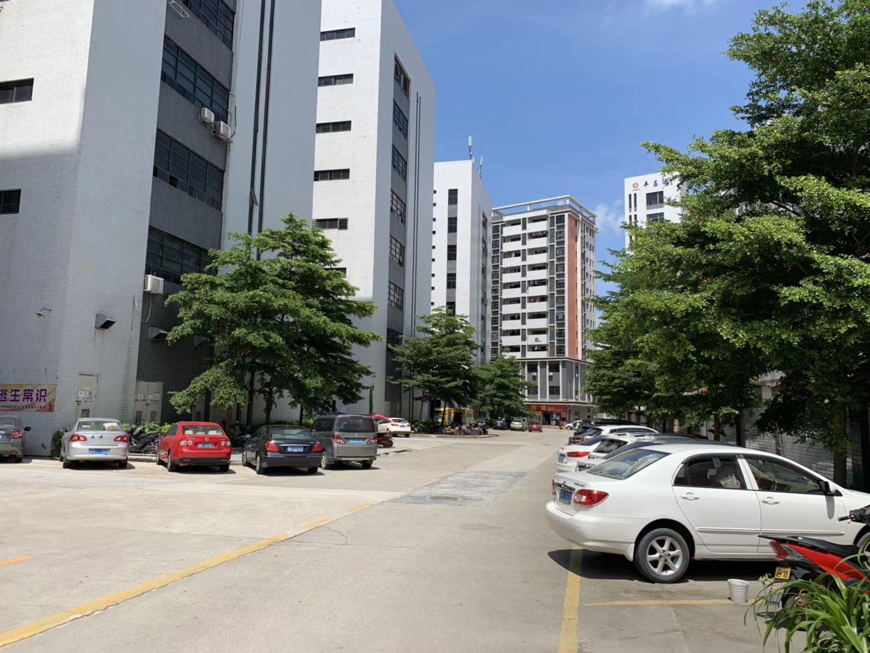 松岗塘下涌工业区楼上整层2000平方厂房招租,豪华装修