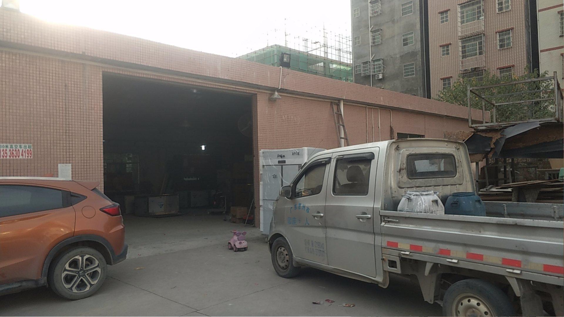 马安镇新乐工业区新出一楼厂房面积400