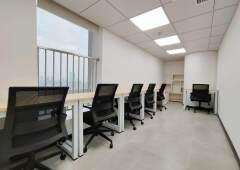 越秀区淘金地铁站附近精装小户型办公室6人间