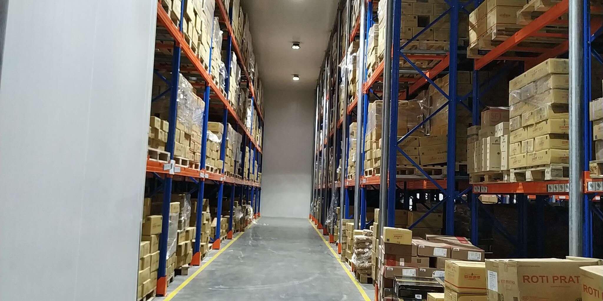 现成带卸货平台冷库1000平方,冷冻冷藏都可以租,有专业物流