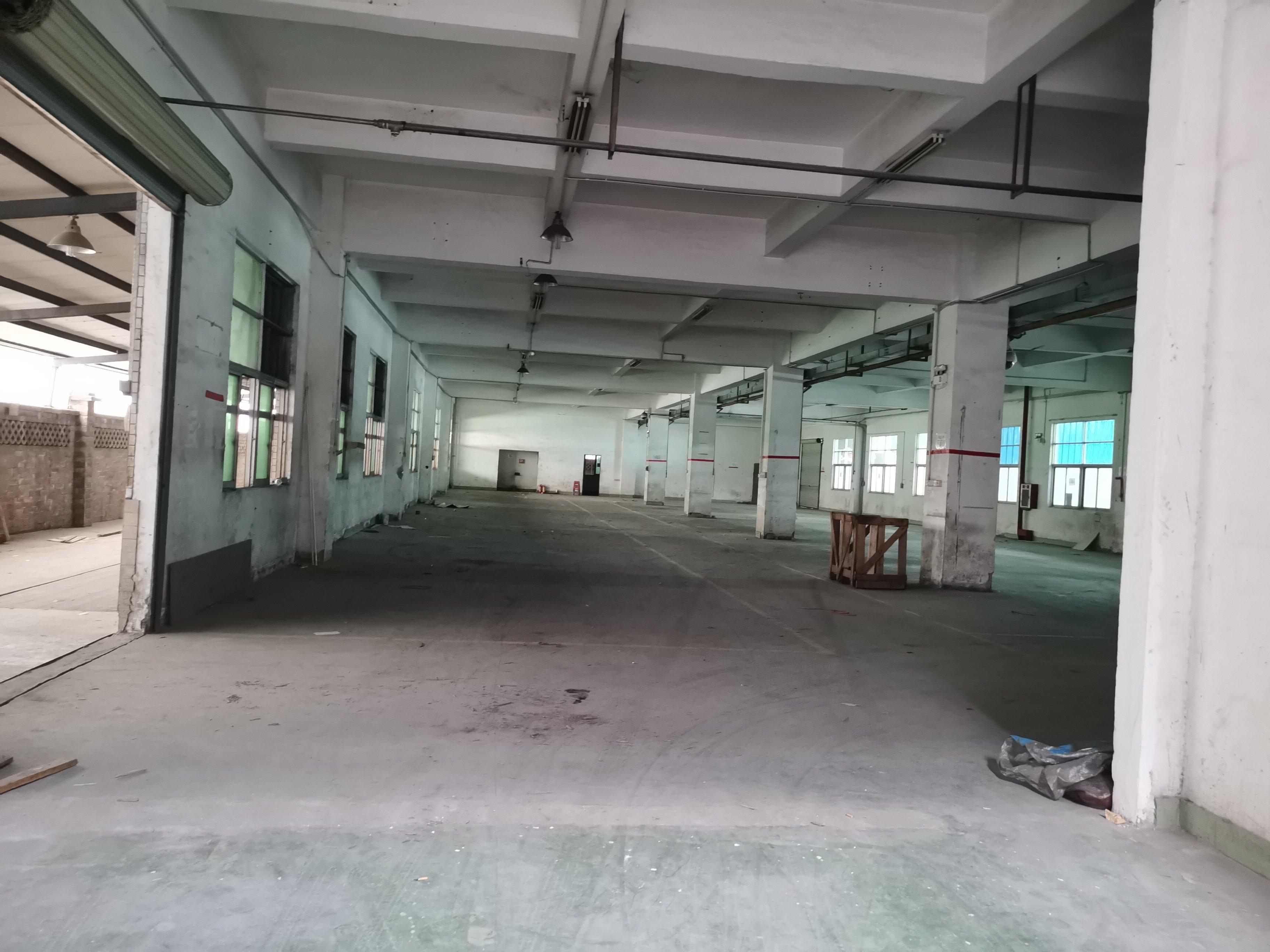 茶山新出厂房,条件明确,随时可以收钱,总面积13200