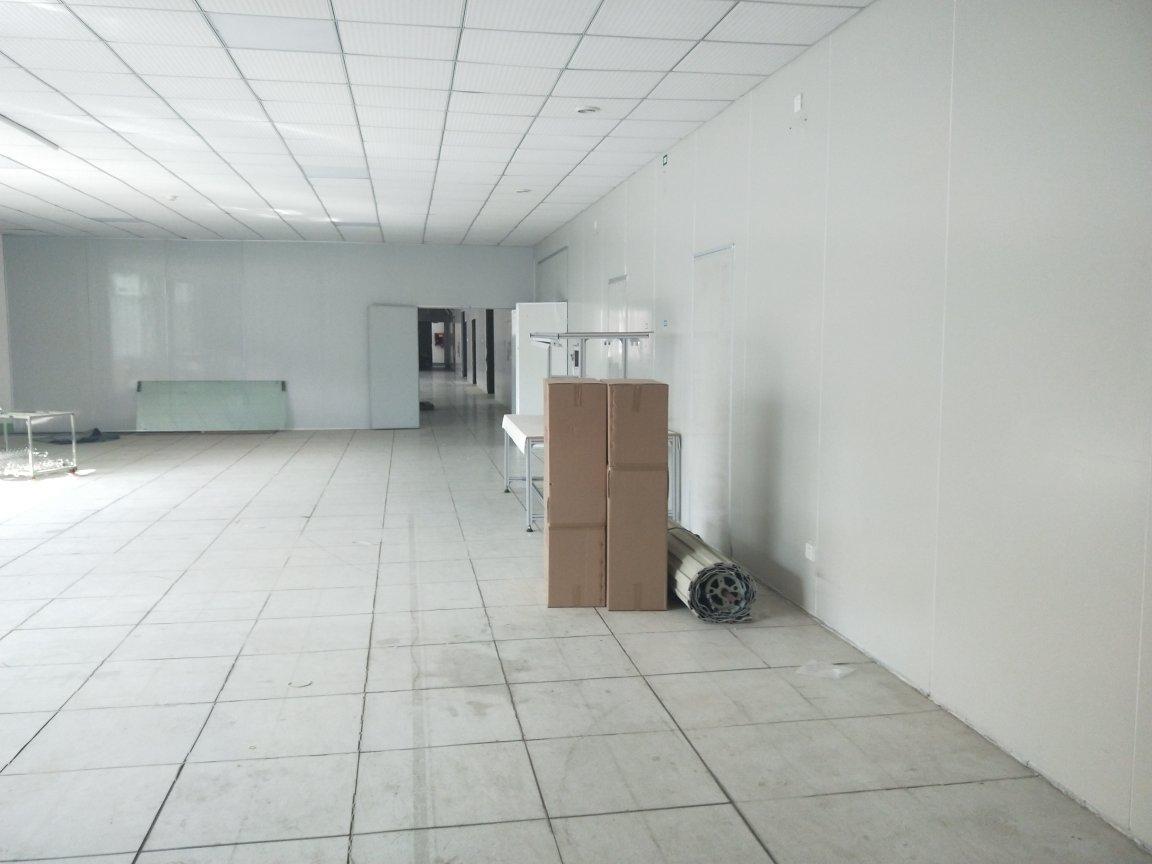 龙岗惠盐高速旁楼上精装修厂房1600平米,出租有红本。-图2