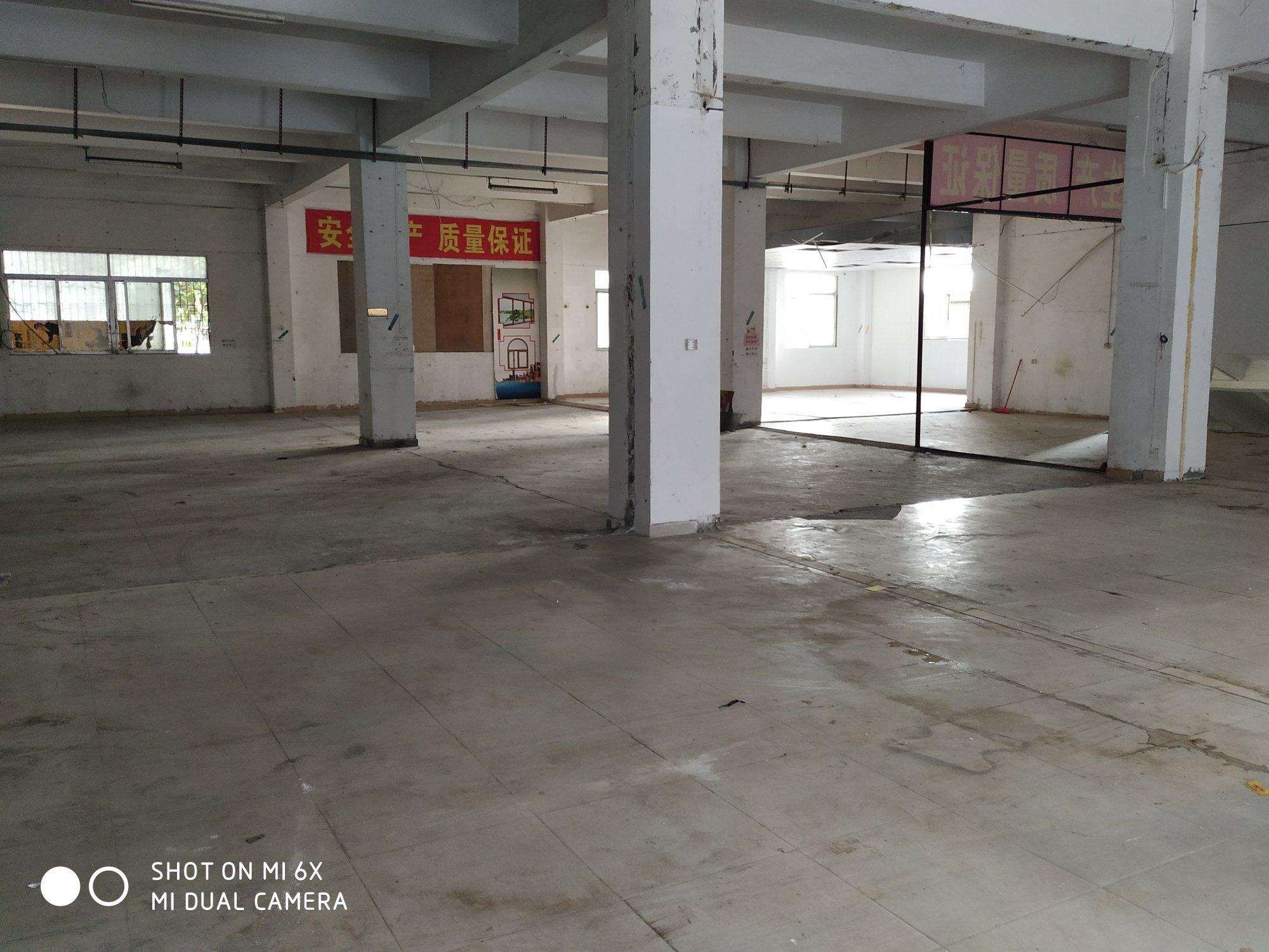 西乡九围洲石路大型工业园一楼标准厂房580平方出租