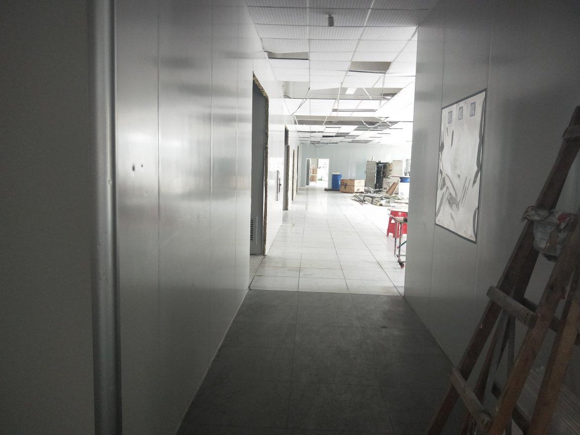 龙岗惠盐高速旁楼上精装修厂房1600平米,出租有红本。-图4
