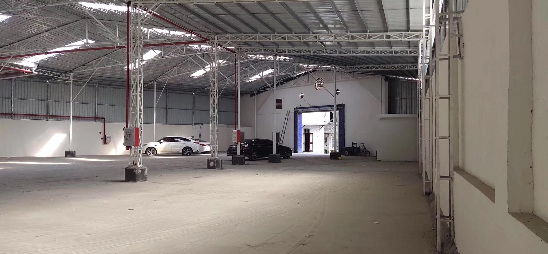 松岗新出钢结构厂房出租,合适做废品打包,仓库等行业!