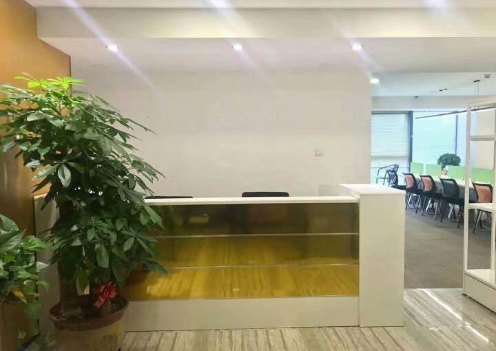 深圳龙华清湖地铁站附近新出精装配家私办公室245平出租图片1