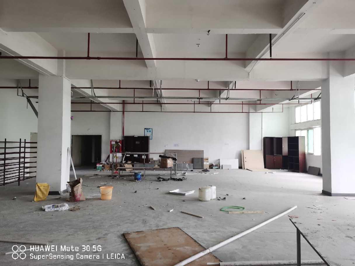 观澜章阁工业区标准厂房600平带办公室带消防喷淋-图5