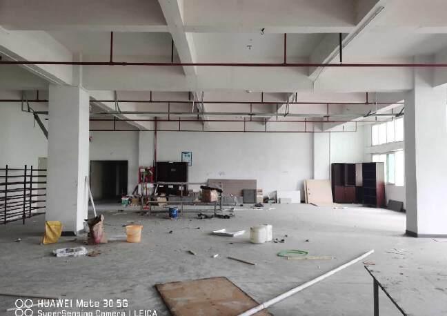 观澜章阁工业区标准厂房600平带办公室带消防喷淋