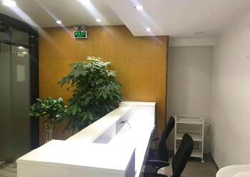 深圳龙华清湖地铁站附近新出精装配家私办公室245平出租图片4