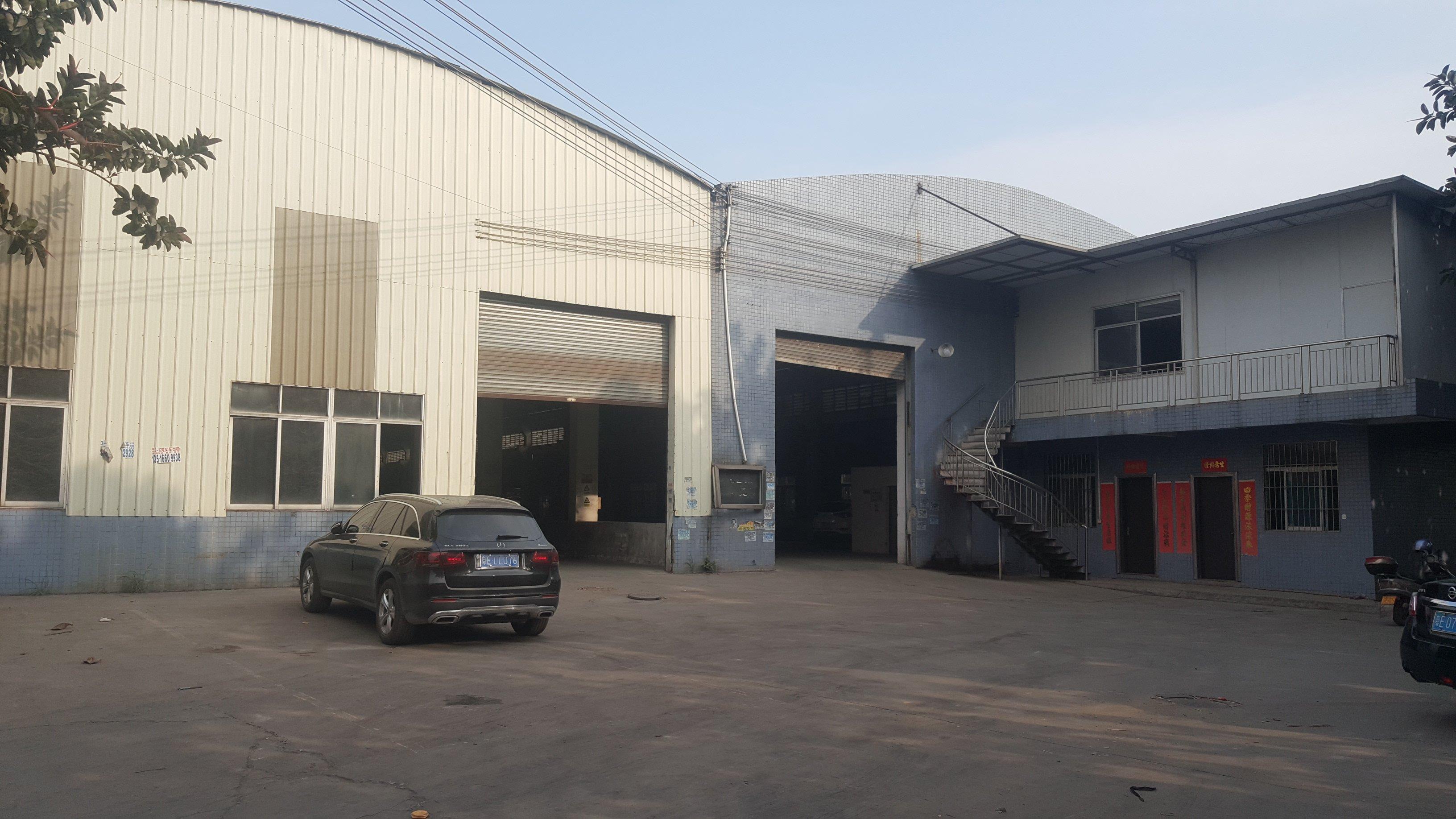禅城祖庙独门独院单一层红本厂房,配备齐全有牛腿可分租停拖头车