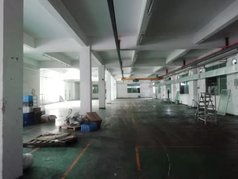 白云区嘉禾标准厂房一楼1200平,可做工厂仓库物流。