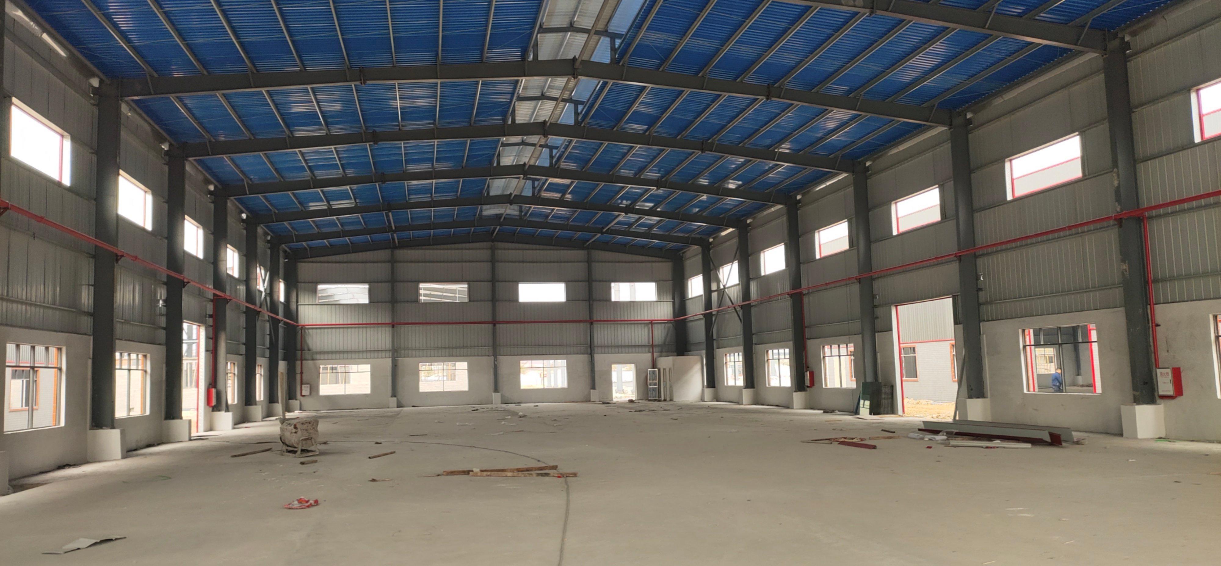 55000平独院厂房,钢构21000平,配电930kv,红本