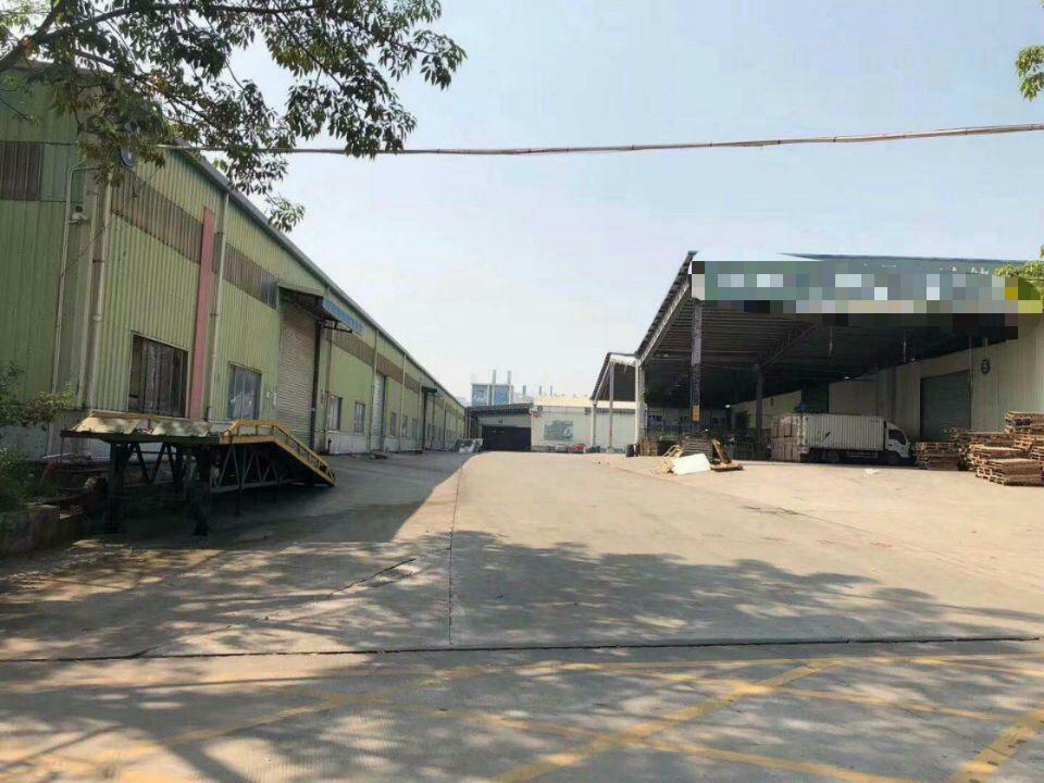 南城独院电商物流仓库一万平方带卸货平台可分租