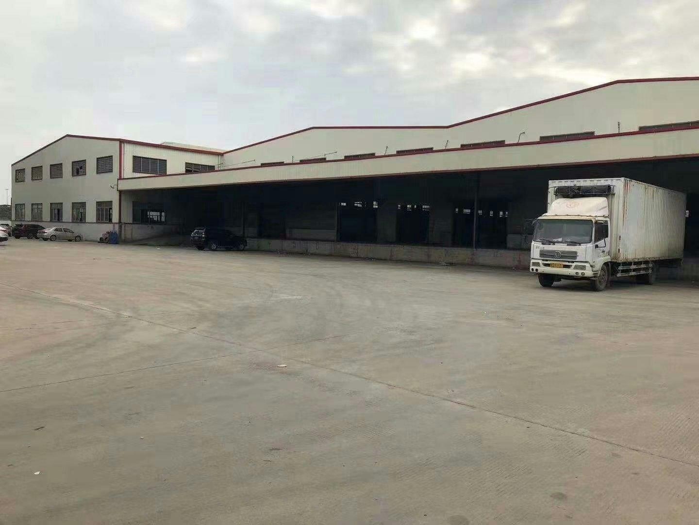 洪梅超大空地高台物流仓库7000平方招租可分租