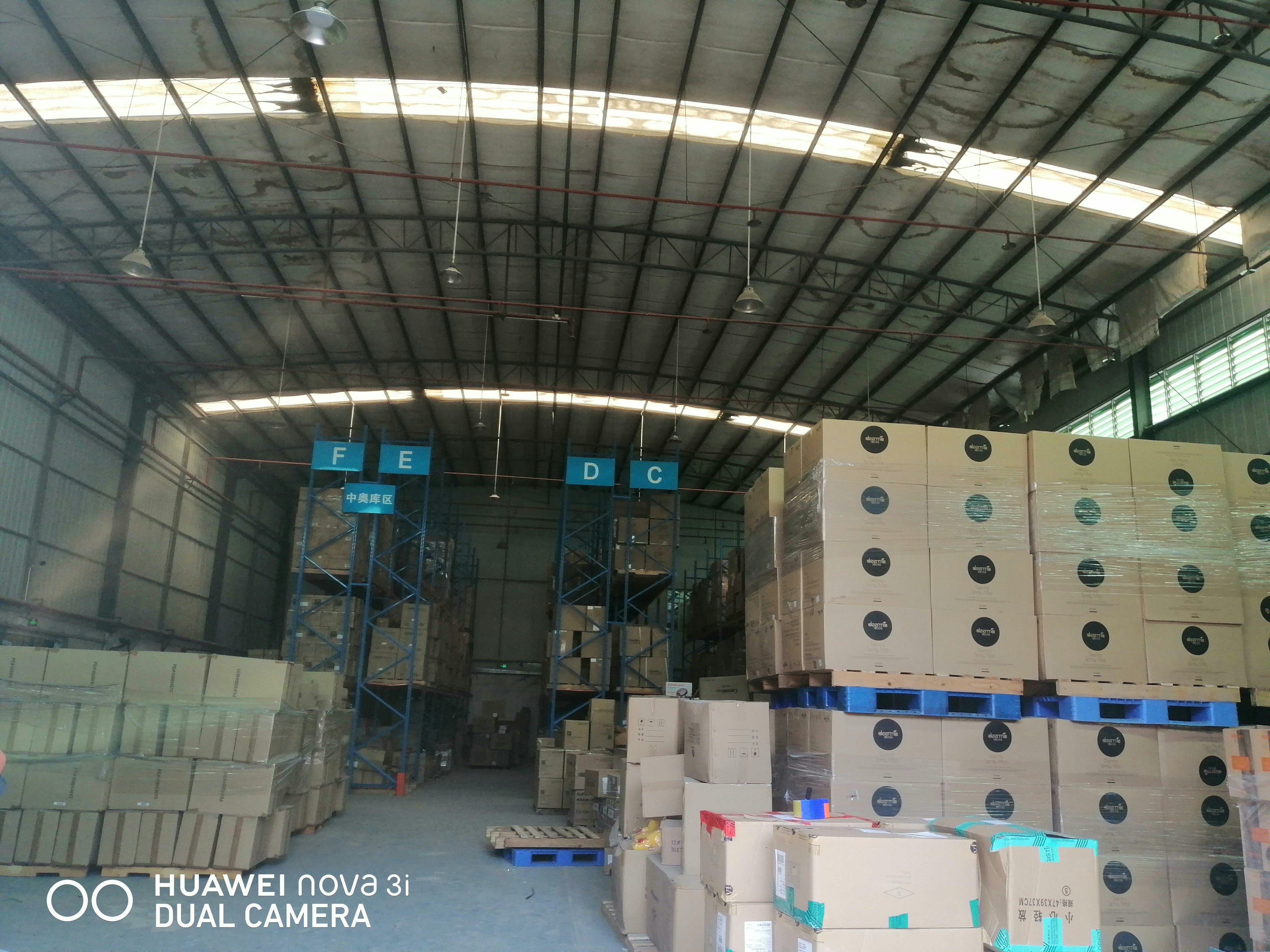 松山湖单一层标准仓库8000平方原房东直租位于高速出口