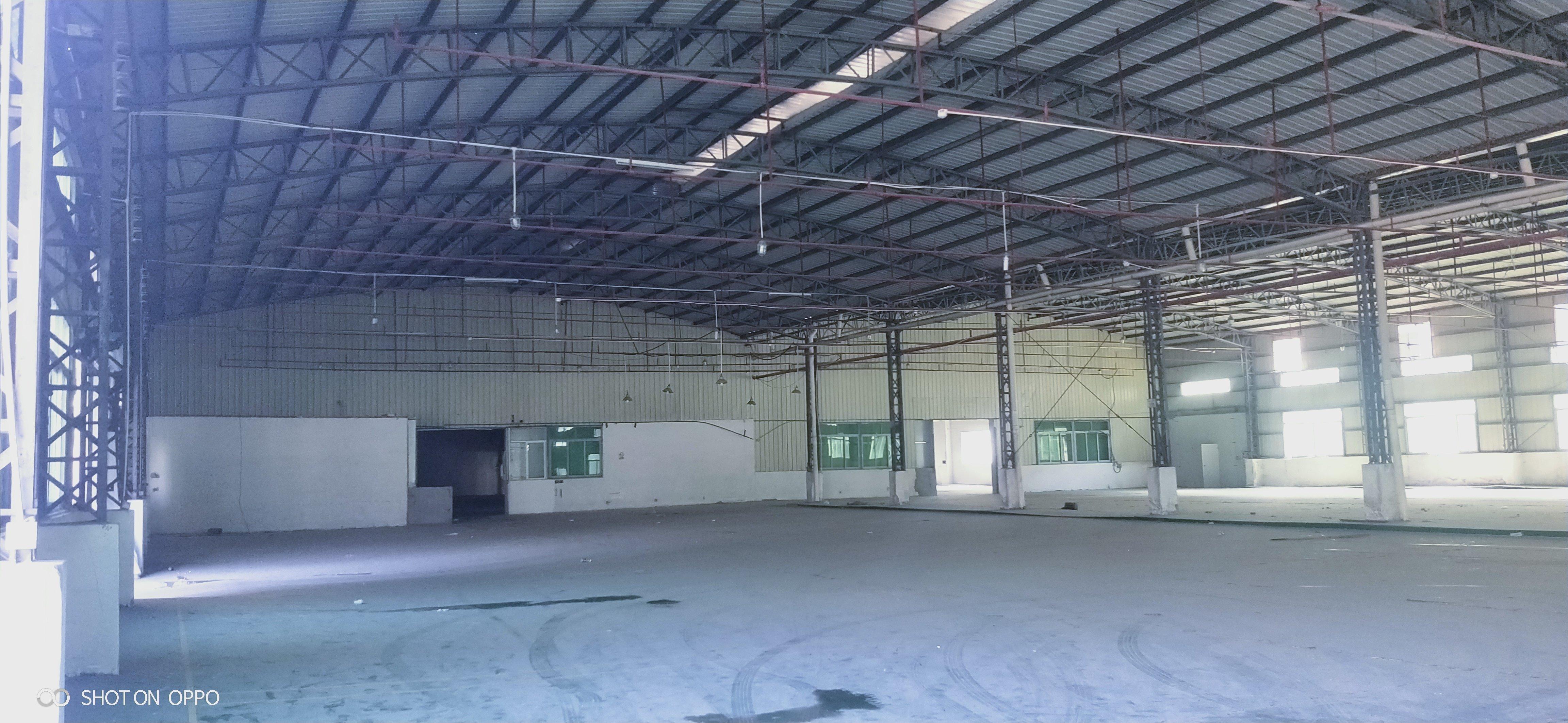 中堂附近新出单一层厂房出租