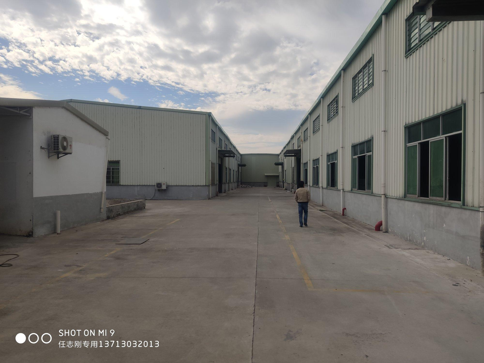 惠州市惠城区原房东工业园钢构厂房出租