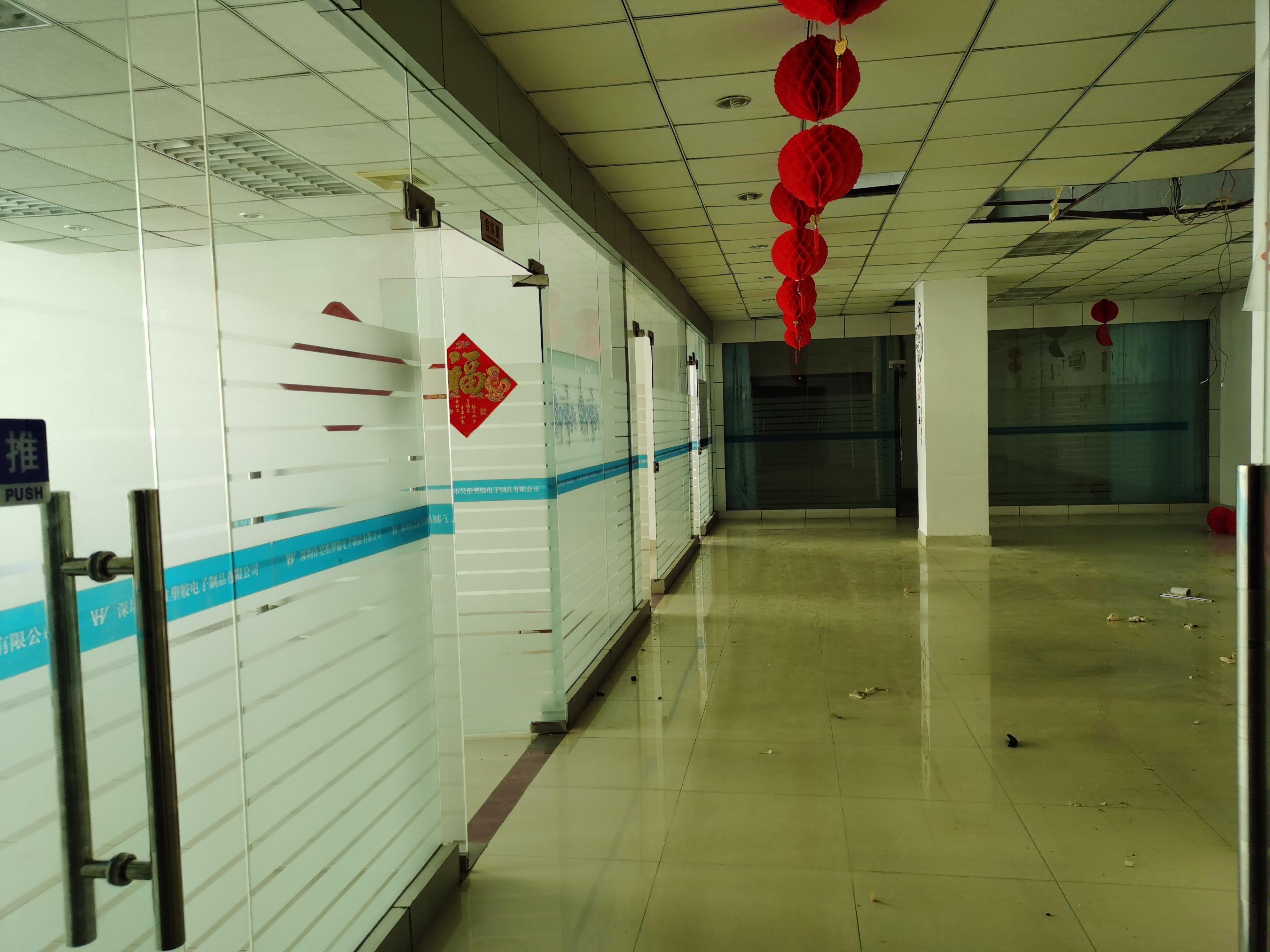 沙井西环路边上900平方精装修厂房招租,带办公室。-图4