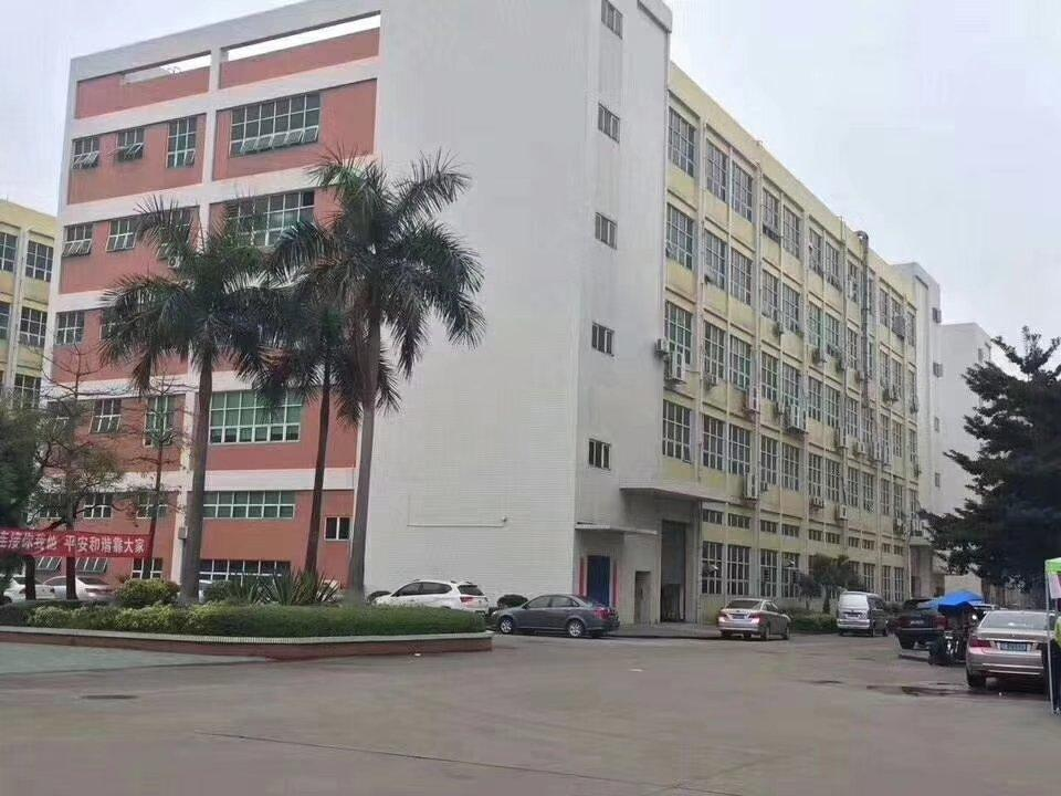 沙井西环路边上900平方精装修厂房招租,带办公室。