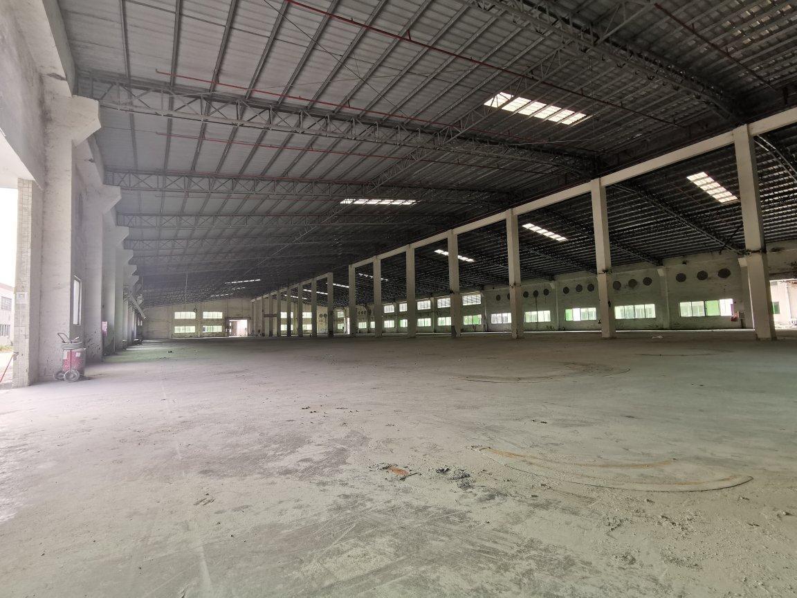 惠州市惠东县钢结构厂房5800平带20000平空地