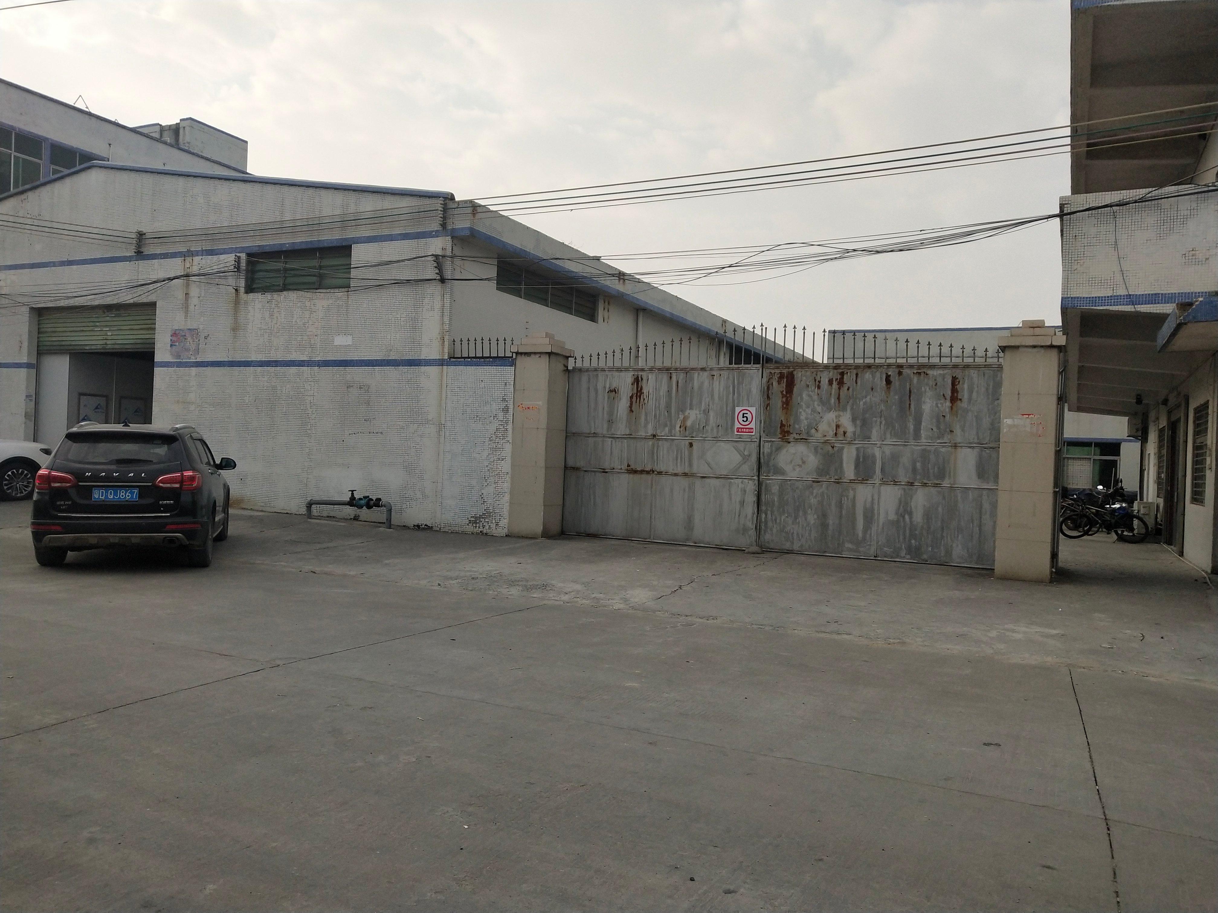 福田镇324国道旁边原房东砖墙到顶单一层独院1700平方出租