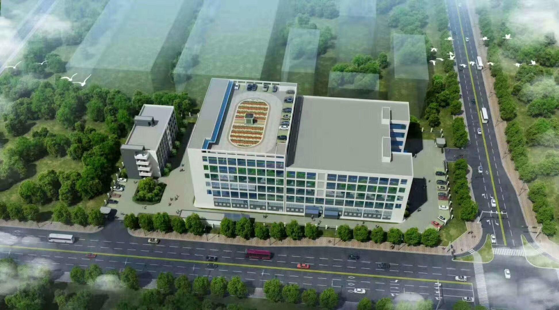 广州清远广清园10000平红本独栋厂房出售