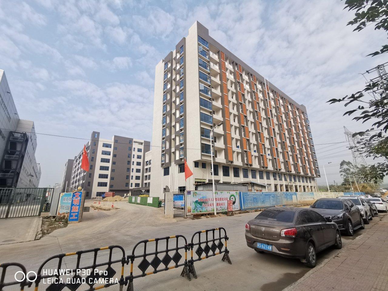 惠阳沙田原房东红本高新产业园标准厂房85000平方可整租分租