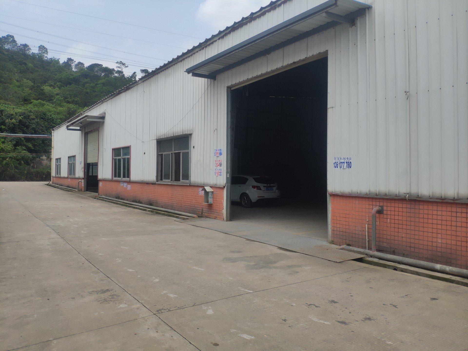 深圳龙岗坪地新出2200㎡钢构仓库出租合同可签五年