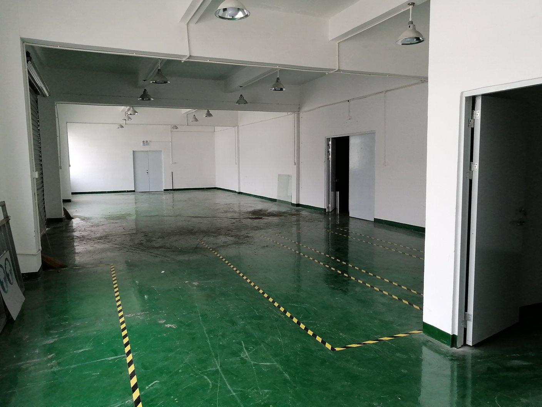 坪山大工业区花园式工业园分租楼上2000平厂房出租