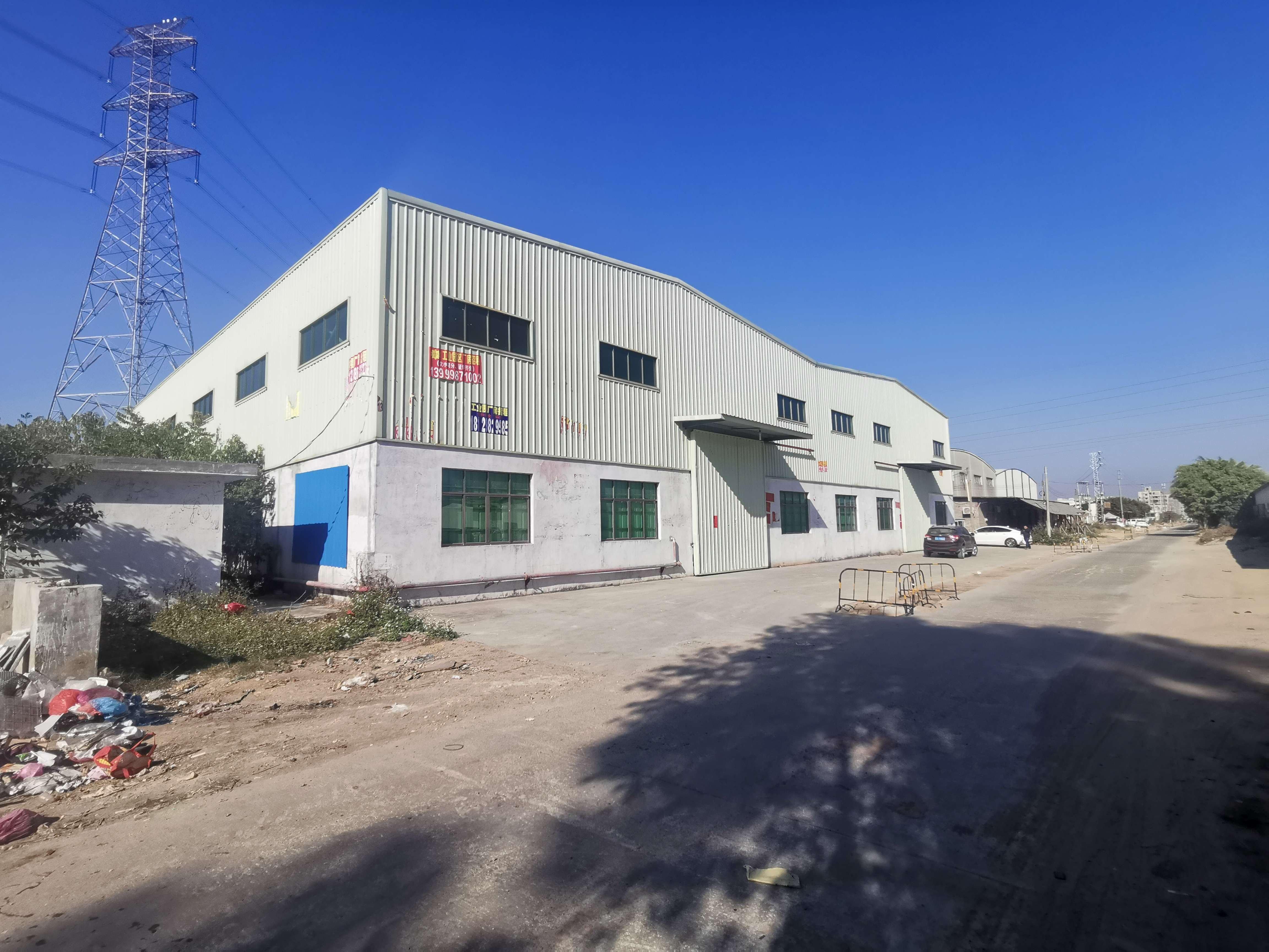 石湾镇工业园区独院单一层2800平方带隔热层