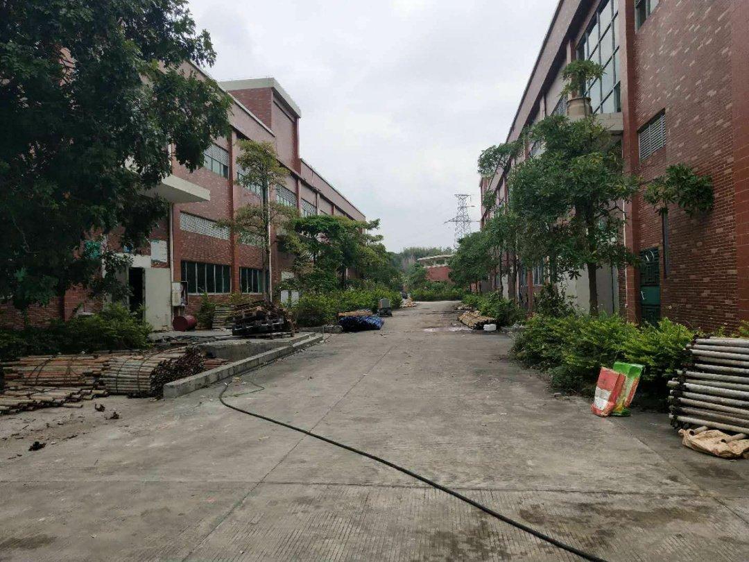 博罗10万平工业园带红本大小面积均可出售